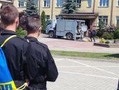 Klasy policyjne na pokazie ćwiczeń dowódczo - sztabowych