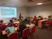 Uczniowie z branży gastronomicznej i hotelarskiej  rozpoczęli staż zawodowy w Wilnie - edycja wrzesień 2019