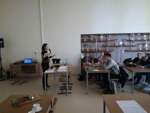 """Spotkanie informacyjne z uczestnikami projektu """"Wiedza w praktyce – zagraniczne staże"""""""