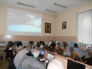 """Zajęcia kulturoznawcze w ramach projektu """"Wiedza w praktyce – zagraniczne staże"""""""