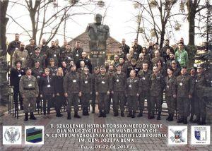 Czytaj więcej: Szkolenie instruktorsko - metodyczne nauczycieli w Centrum Szkolenia Artylerii i Uzbrojenia w...