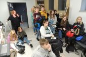 Zajęcia zawodowe w Hali Kultury w Łomży