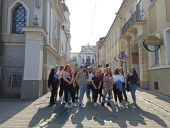 """Praktyki uczniów """"Budowlanki"""" w Wilnie"""